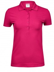 Ladies Luxury Stretch Hot Pink Arbetskläder Vården